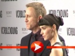 Daniel Craig und Rooney Mara auf dem roten Teppich in Berlin