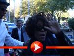 Whitney Houston reist aus Freiburg ab