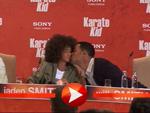 Will Smith küsst auf seinen Sohn Jaden