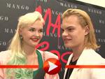 Wilson Gonzalez Ochsenknecht und Bonnie Strange: Geben sich Modetipps