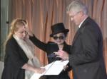 Yoko Ono: In Berlin geehrt