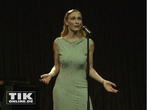 Andrea Sawatzki präsentiert sich erstmals als Sängerin