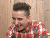 Andreas Gabalier lacht herzhaft