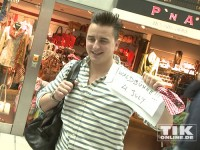 Andreas Gabalier auf Zwischenstopp am Flughafen Tegel