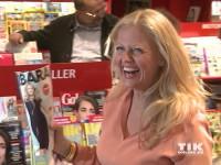 Barbara Schöneberger stellt Zeitschrift vor