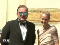 Alexander Fürst zu Schaumburg-Lippe hatte seine Ehefrau Nadja bei den Bayreuther Festspielen 2015 mit dabei