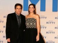 """Ben Stiller und Kristen Wiig strahlen bei der Berlin-Premiere von """"Das erstaunliche Leben des Walter Mitty"""" für die Kameras"""