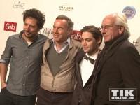 Fahri Yardim, Nico Hofmann, Tom Payne und Uli Bauer