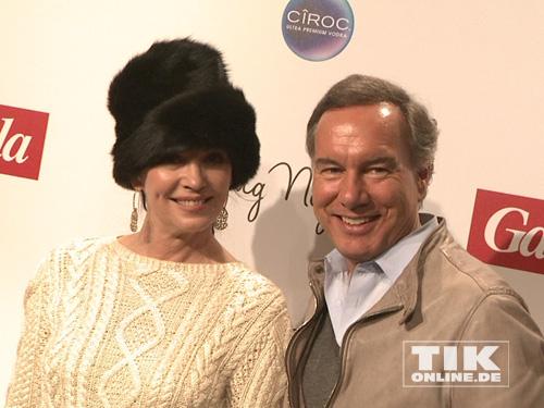 Iris Berben und Nico Hofmann