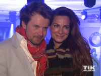 Alexandra Kamp und ihr Freund Michael von Hassel bei der Premiere des neuen 7er BMW in Berlin