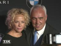 Katja Riemann und Hans Reiner Schröder bei der Premiere des neuen 7er BMW in Berlin