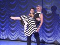 "Claudia Effenberg bei der ""Dirty Dancing""-Premiere"