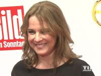 """Désirée Nosbusch gut gelaunt beim """"Goldenen Lenkrad 2015"""""""