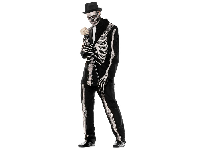 Skelett-Anzug