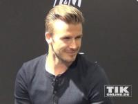 David Beckham signiert Unterwäsche