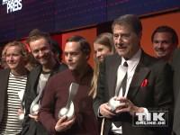 Gruppenbild mit den Gewinnern des Musikautorenpreises 2014 in Berlin