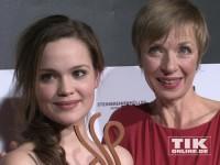 Emilia Schüle beim Deutschen Schauspielerpreis 2014