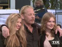 """Ben Becker kam mit seiner Tochter Dörte und einer ihrer Freundinnen zur """"Hotel Transsilvanien 2""""-Premiere"""