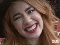 """Palina Rojinski bei der """"Hotel Transsilvanien 2""""-Premiere in Berlin"""