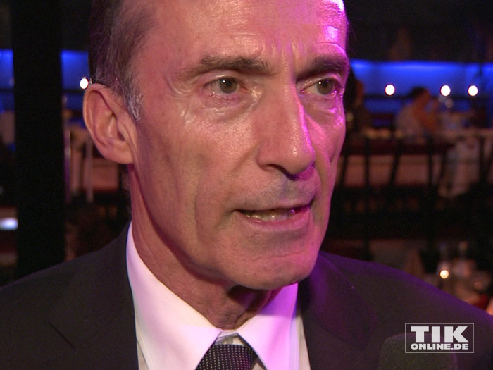 Ex-Kunstturner Eberhard Gienger bei der Diabetes Gala 2015