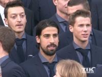 Sami Khedira und Mesut Özil