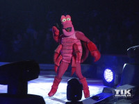 """Krabbe Sebastian aus """"Arielle, die Meerjungfrau"""" bei der Premiere von """"Disney On Ice"""""""