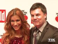 """Thomas Helmer und Ehefrau Yasmina Filiali bei """"Ein Herz für Kinder 2014"""""""