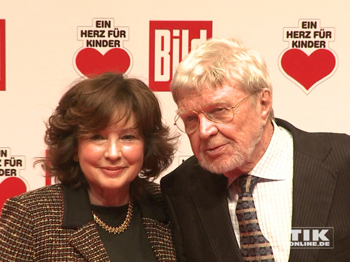 Hardy Krüger mit Ehefrau Anita
