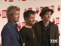 """Die norwegischen Super-Stars a-ha um Sänger Morten Harket gehörten zu den Gästen der """"Ein Herz für Kinder""""-Gala 2015 in Berlin"""