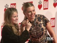 """Schauspielerin Anne Sophie Briest kam mit Tochter Faye Montana zur """"Ein Herz für Kinder""""-Gala 2015 in Berlin"""