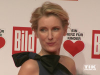 """Auch Maria Furtwängler erschien bei der """"Ein Herz für Kinder""""-Gala 2015 in Berlin"""