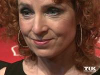 """Monica Lierhaus zeigte sich bei der """"Ein Herz für Kinder""""-Gala 2015 in Berlin mit ungewohnter Lockenpracht"""