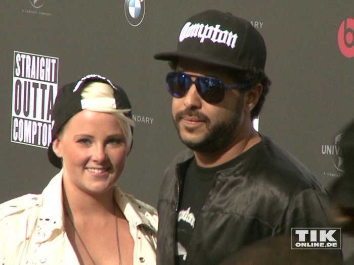 Straight Outta Compton Premiere Mit Ice Cube In Berlin Tikonlinede