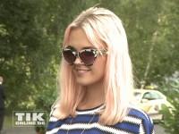Bonnie Strange präsentierte sich mit stylischer Sonnenbrille bei der Eröffnung der Sommer Fashion Week Berlin 2014