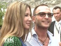 Thomas Kretschmann und seine Freundin Brittany Rice bei der Eröffnung der Sommer Fashion Week Berlin 2014