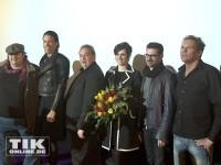 """Christian Tramitz, Oliver Kalkofe, jorge Gonzalez, Sante De Santis, Nora Tschirner und Rick Kavanian haben Spaß auf der """"Free Birds""""-Premiere in Berlin"""