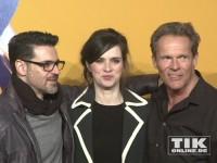 """Rick Kavanian, Nora Tschirner und Christian Tramitz bei der """"Free Birds""""-Premiere in Berlin"""
