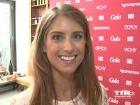 Cathy Hummels, ehemals Fischer, beim Gala Fashion Brunch 2015