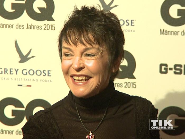 "Katrin Sass bei den GQ ""Männer des Jahres"" 2015 Awards"