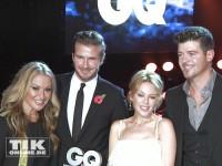 Anastacia, Kylie Minogue, Robin Thicke und David Beckham bei den GQ Männer des Jahres Awards 2013