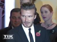 David Beckham bei den GQ Männer des Jahres Awards 2013