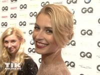 Lena Gercke bestens gelaunt bei den GQ Männer des Jahres Awards 2013