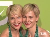 Die Meise-Zwillinge Nina und Julia beim GreenTec Award 2015