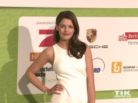 """GNTM""-Siegerin Vanessa Fuchs beim GreenTec Award 2015"