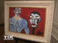 "Harald Glööcklers ""Kunst gegen den Krieg"""