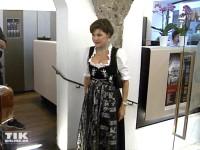 Anja Kruse im feschen Dirndl
