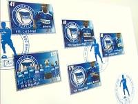 Die Hertha BSC Briefmarken