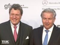 Klaus Wowereit mit Reinhard Zinkann