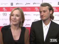 Katja Flint hatte ihren Sohn Oscar Lauterbach zur IFA Opening Gala 2015 in Berlin mitgebracht