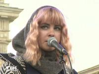 Jasmin Madeleine Weber bei ihrem ersten Solo-Auftritt nach der Trennung von ihrem Mann Adel Tawil